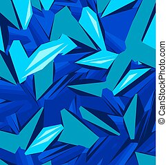Background design with different shades of blue