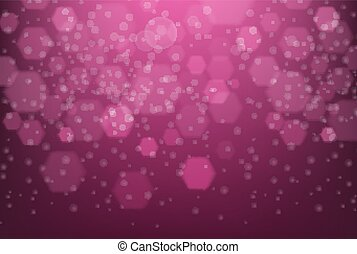 Background design with pink abstract pattern