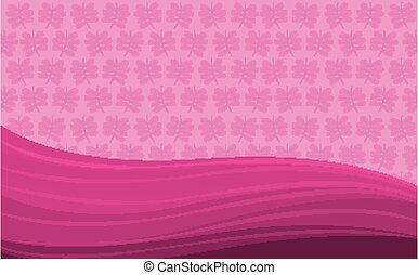 Background design with pink abstract patterns