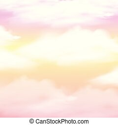 Background design with pink sky