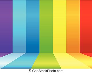 Background design with rainbow colors