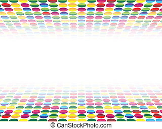 Background Dots Seamless Perspective 4