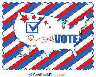Background - Election Day Vector