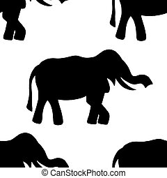 background elephant.