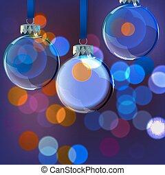 Background Evening Balls