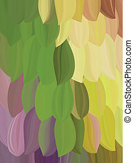 background exotic parrot feather