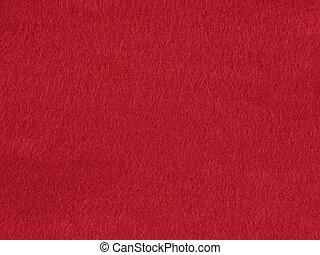 Background felt red