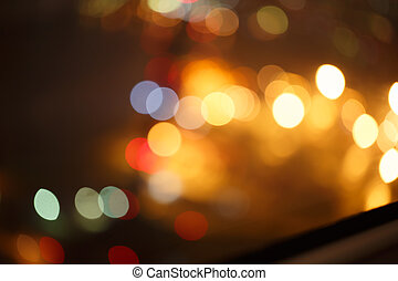 background. Festive abstract background with bokeh defocused lights 1