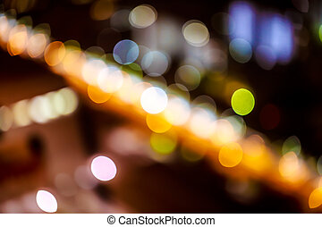 background. Festive abstract background with bokeh defocused lights 4