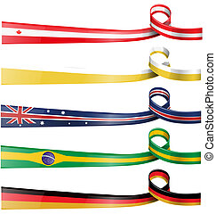 background flag set