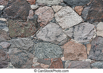Background flat old stone wall