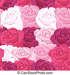 background floral pattern with roses