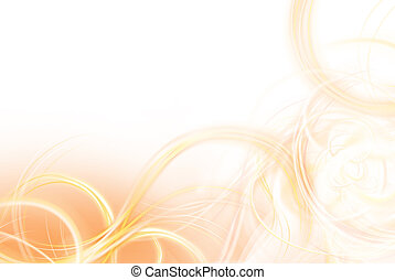 Background for broadband ad - orange background with graphic...