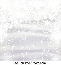 background for Christmas and winter holiday card