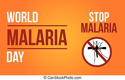 Background For Malaria Day Sign