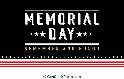 Background for memorial day collection style