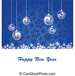 Background for new year