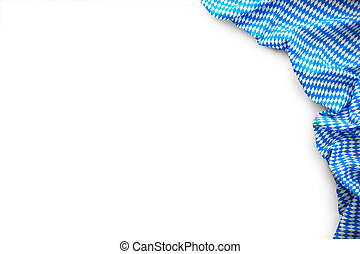 Background for Oktoberfest with bavarian white and blue ...