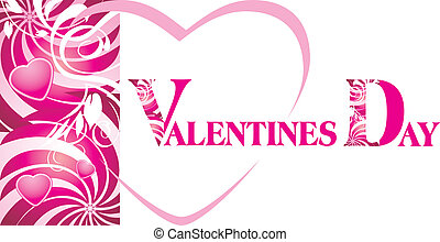 Background for Valentines card