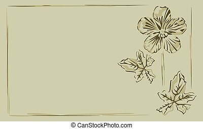 Background frame buttercup