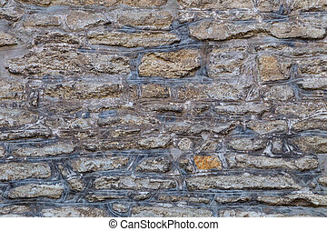Background from a historic stone wall.