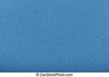 Background from blue coarse canvas texture
