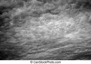 background from clouds