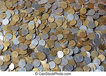 Background from coins.