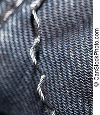 background from denim. macro
