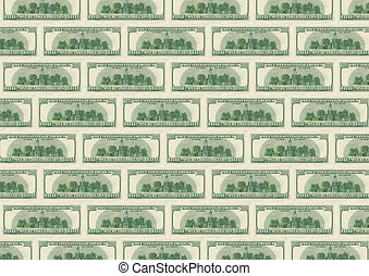 background from dollars_underside