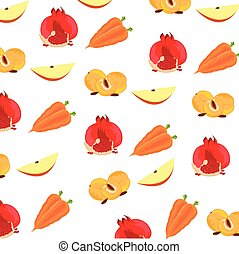 Background from fruit