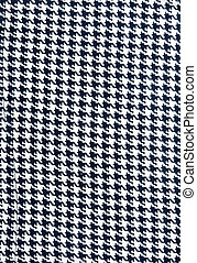 Background from knitted black white fabrics with pattern