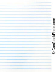 notebook wide lined sheet of paper - background from ...