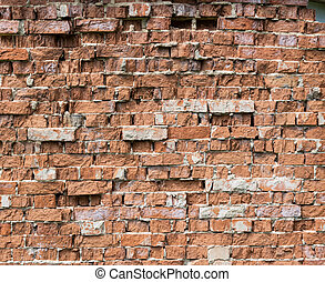 background from old brick wall