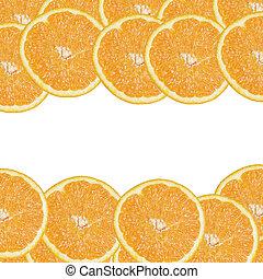 background from orange slices