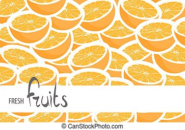 Background from oranges