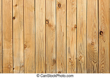 Background from pine boards with knots and holes