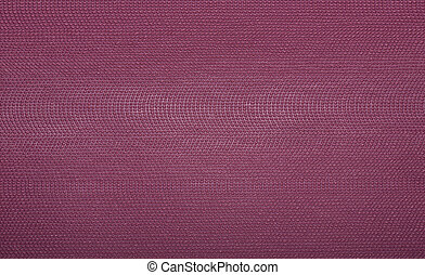 Background from pink coarse canvas texture