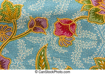 Background general native Thai style fabric