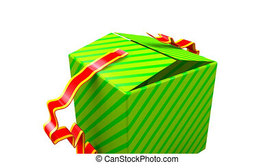 Background Gift Opening