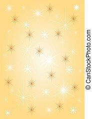 Background gold stars