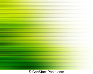 Background - Green and white dynamic lines. Abstract...