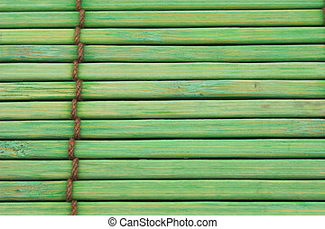 Background green - Green backgrouns with ropes and wood