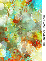 background grunge - abstract painted background - created by...