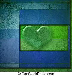 background heart romantic card,copy space - background heart...