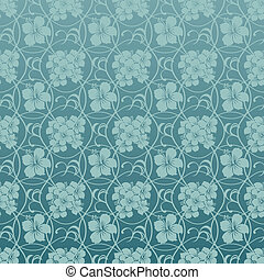 Background Hibiscus Blue