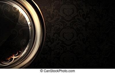 Background horizontal black
