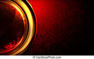 Background Horizontal red