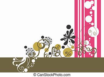 Background - Illustration of a decorative background