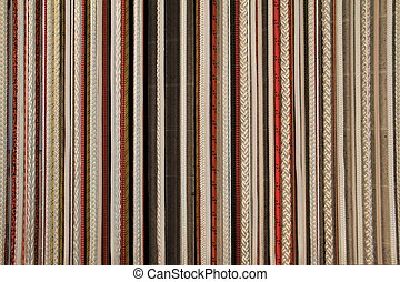 Background image of colorful rope